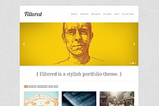 Filtered WordPress Theme from ThemeForest