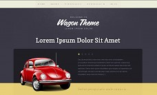 Wagon WordPress Theme from Voosh Themes