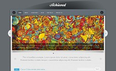 Achieved WordPress Theme from Voosh Themes