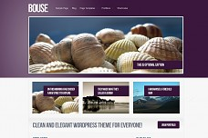 Bouse WordPress Theme from Voosh Themes