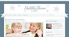 Dabble WordPress Theme from StudioPress