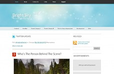 Bright Sky WordPress Theme from KreativeThemes