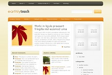 EarthlyTouch WordPress Theme from Bleepli Themes