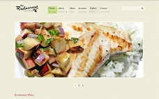 Restaurant Pro WordPress Theme from ThemeForest