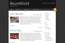 Snowblind WordPress Theme from Themes by Bavotasan.com