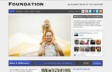 Foundation WordPress Theme from Themes Kingdom