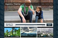 Agency WordPress Theme from Themes Kingdom