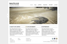 Nautilius WordPress Theme from ThemeForest