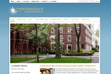 Universidad WordPress Theme from Themes Kingdom