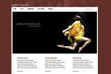 Light Touch WordPress Theme from ThemeForest