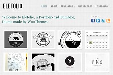 Elefolio WordPress Theme from ThemeForest