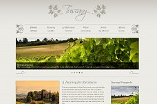 Tuscany WordPress Theme from Gabfire Themes