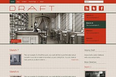 Draft WordPress Theme from ThemeForest