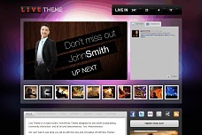 Live Theme WordPress Theme from Press75