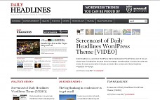 Daily Headlines WordPress Theme from WPZOOM