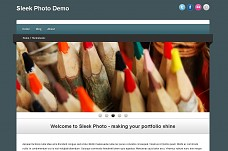 Sleek Photo WordPress Theme from WPMU DEV