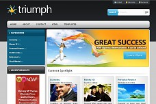 Triumph WordPress Theme from WP Now