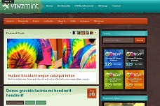 Vintmint WordPress Theme from Acosmin