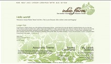 Indian Flowers WordPress Theme from Museum Themes