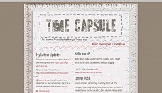 Time Capsule WordPress Theme from Museum Themes