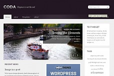 Coda WordPress Theme from Solostream