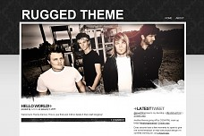 Rugged WordPress Theme from Mint Themes