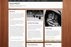 Old Post WordPress Theme from Obox
