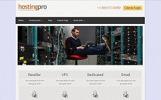 Hosting Pro WordPress Theme from Templatic