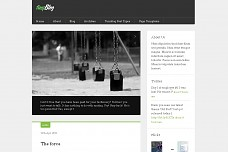 TinyBlog WordPress Theme from Obox