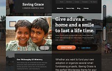 Saving Grace WordPress Theme from WooFramework