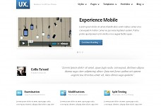 Experience WordPress Theme from ThemeForest