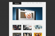 Pure III WordPress Theme from Beatheme