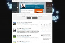 MockFive WordPress Theme from WP Now