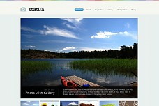 Statua WordPress Theme from WooFramework