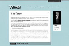 Waves WordPress Theme from WooThemes