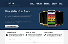 Solidity WordPress Theme