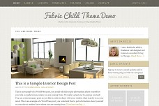 Fabric WordPress Theme from StudioPress