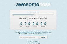 Coming Soon WordPress Theme from Max Foundry