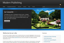 Modern Publishing WordPress Theme