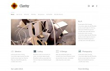 Clarity WordPress Theme from Theme Trust