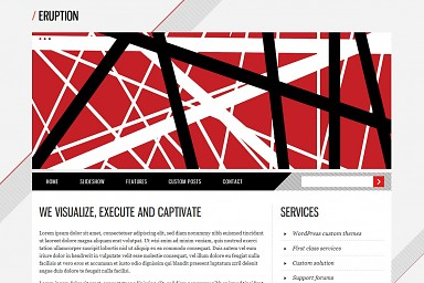 Eruption WordPress Theme