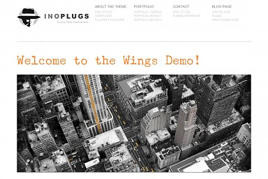 Wings WordPress Theme