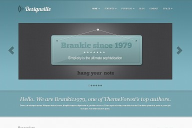 Designville WordPress Theme