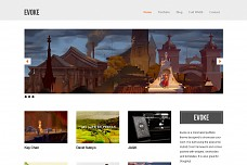 Evoke WordPress Theme from MOJO Themes