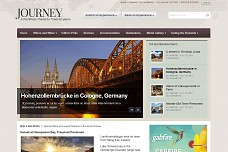 Journey Travel WordPress Theme from Gabfire Themes