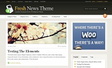 Fresh News WordPress Theme from WooThemes