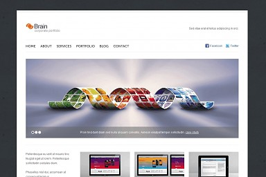 Brain WP WordPress Theme