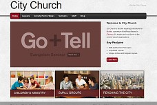 City Church WordPress Theme from Mint Themes