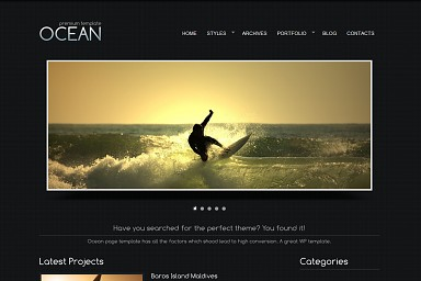 Ocean WordPress Theme