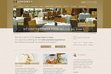 Le Gourmet WordPress Theme from MOJO Themes
